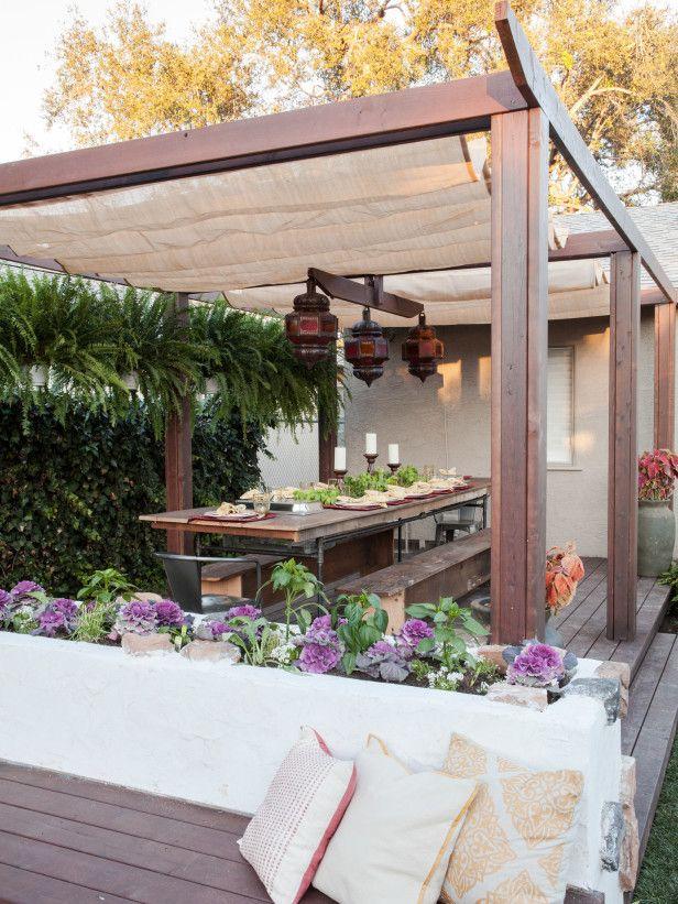 Backyard Dining Sail Pergola Shade B6bff5587c355161f93d74b9bd8b46c8