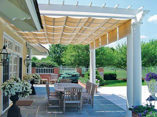 pergola panels 3 - THE ARTISTIC WAY TO DO SHADE Alpha Canvas & Awning