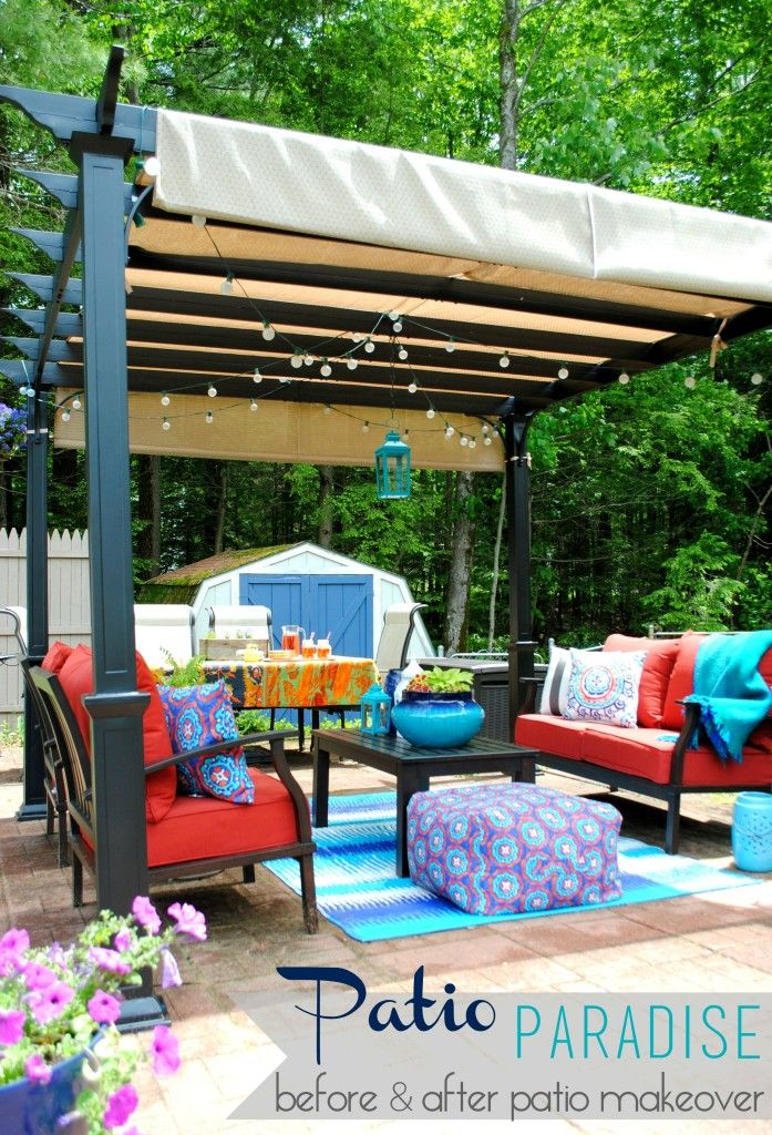 Backyard Living Rooms Alpha Canvas Amp Awning
