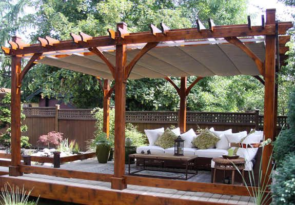 the pergola functional architecture for your backyard living