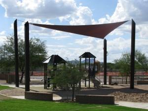 playground shade sail