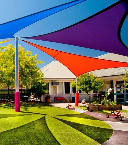 Ever heard of a shade sail alpha canvas awning for Sun shade structure