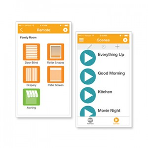 SOMFY myLink APP TO CONTROL SHADE FROM YOUR SMARTPHONE